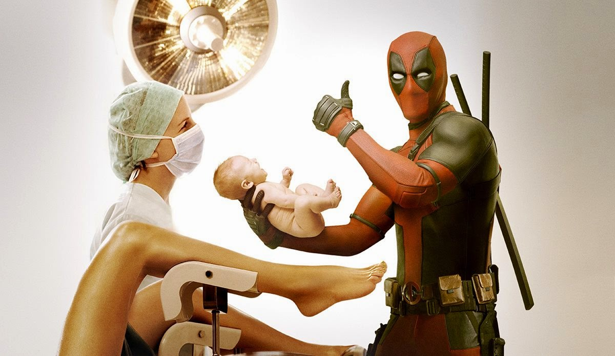 Cowl And Happy Sends Day Cape Message Deadpool Mother's