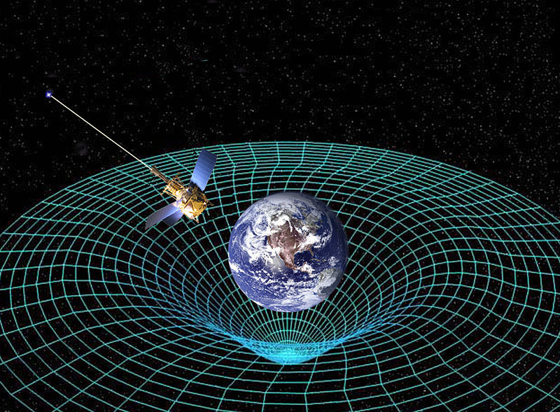 Space theology astrotheology einstein and space time for Space time continuum explained