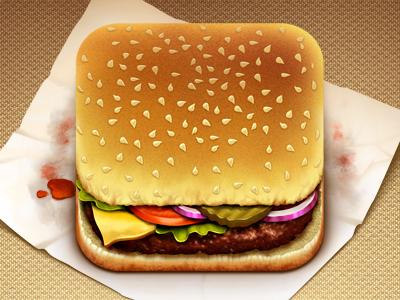 Erfan Nuriyef, iconos para apps de comida