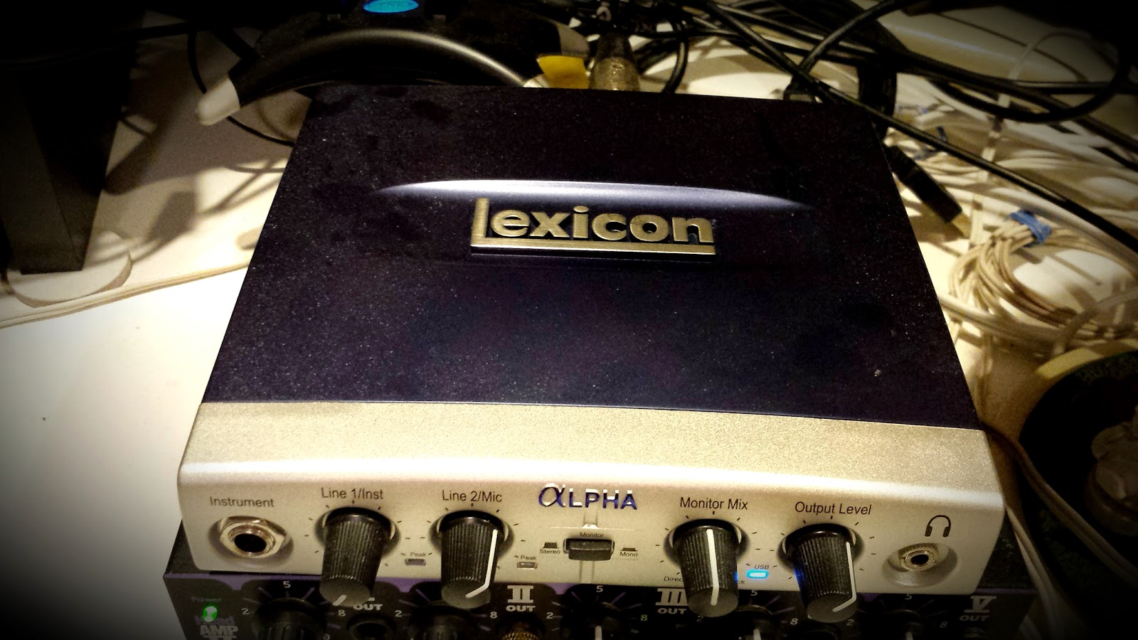Lexicon Alpha External Sound Card