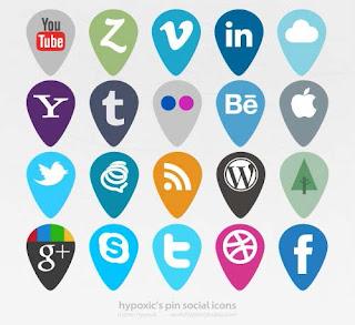 Kumpulan Icon Sosial Media, Wajib Harus Di Miliki