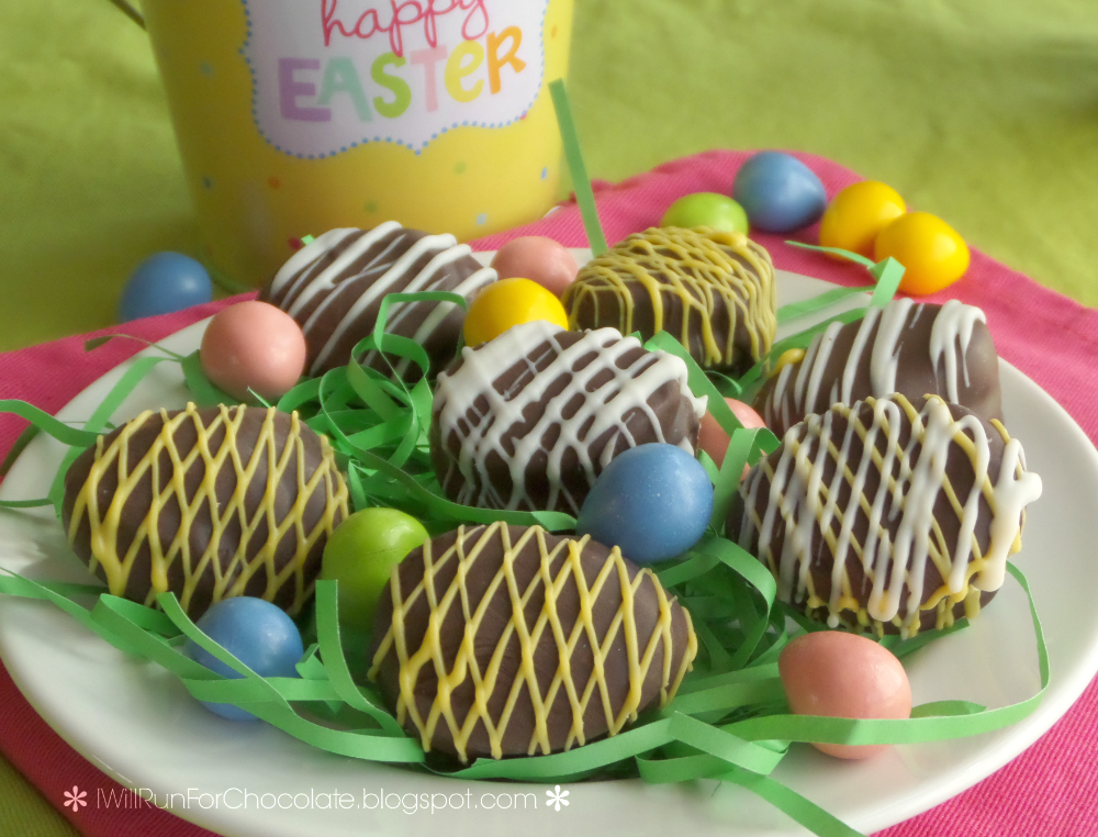 QUEST BAR Chocolate Covered Easter Egg Cookies