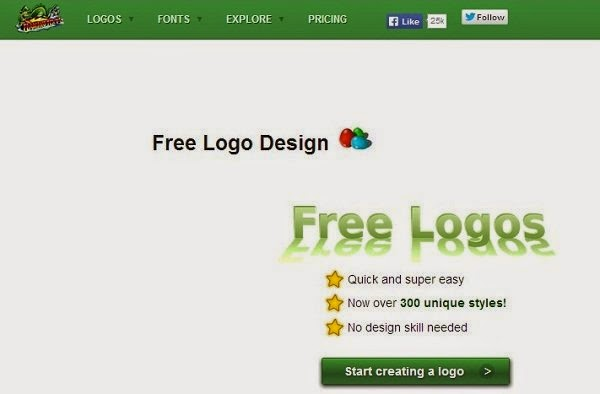 Flaming Text free Logo Design Online, no design skills needed