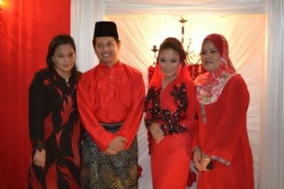 Gambar Majlis Pertunangan Ally Iskandar Dan Aishah Zainal (Gadis Melayu)