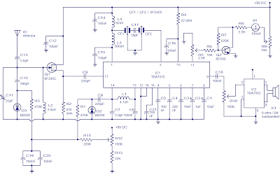 AM Receiver based on TDA1572 IC