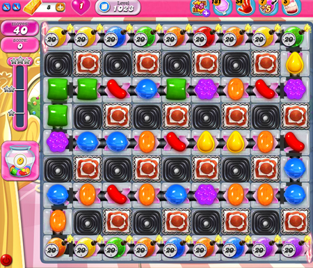 Candy Crush Saga 1023