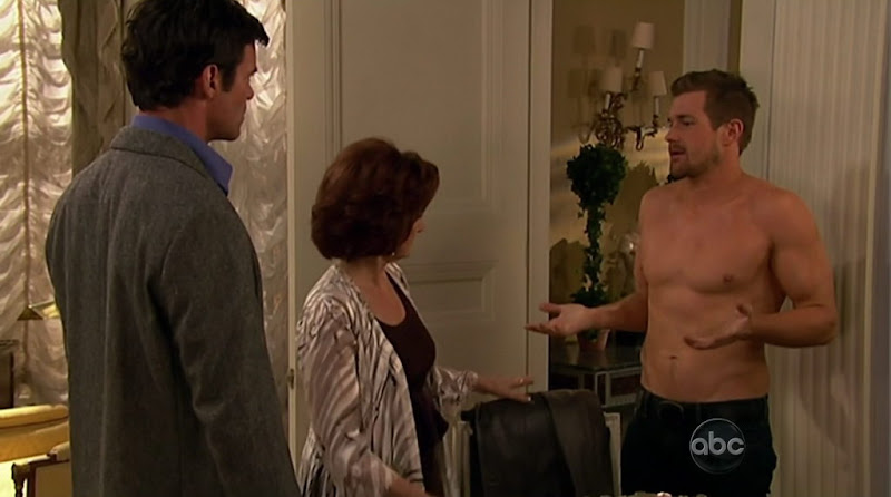 Josh Kelly Shirtless on One Life To Live 20110321