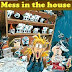 Mess in the house