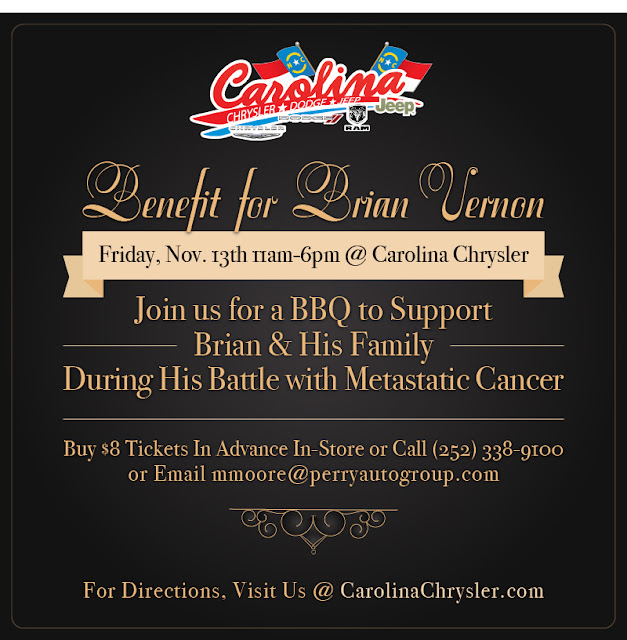 BBQ Benefit For Brian Vernon