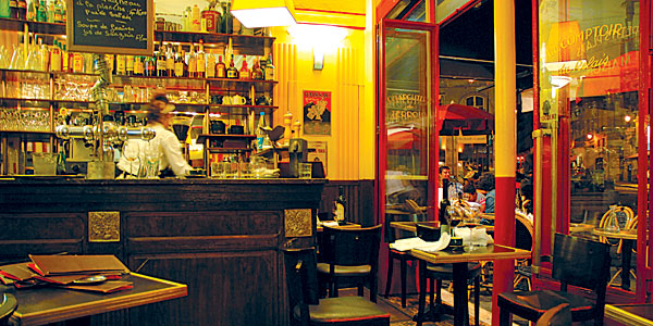 Dreams in hd favorite paris eateries - Le comptoir de l arc paris ...