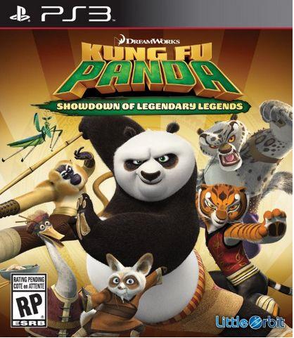 Kung Fu Panda Showdown Of Legendary Legends PS3