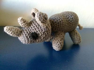 hæklet næsehorn