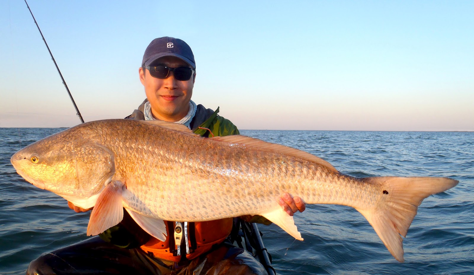 Angling addict april 2012 for Red drum fishing
