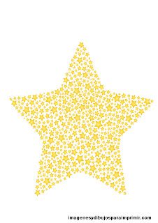 muchas estrellas para imprimir
