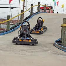 Go-kart track in the Smokies