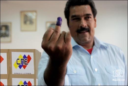 Maduro si prepara alla farsa elettorale (clicca sulla foto)