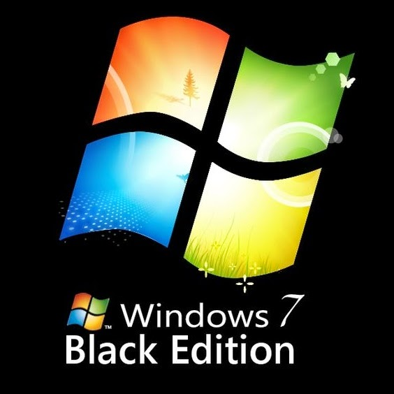 Download Windows 7 Ultimate Black Edition 32 bit Free