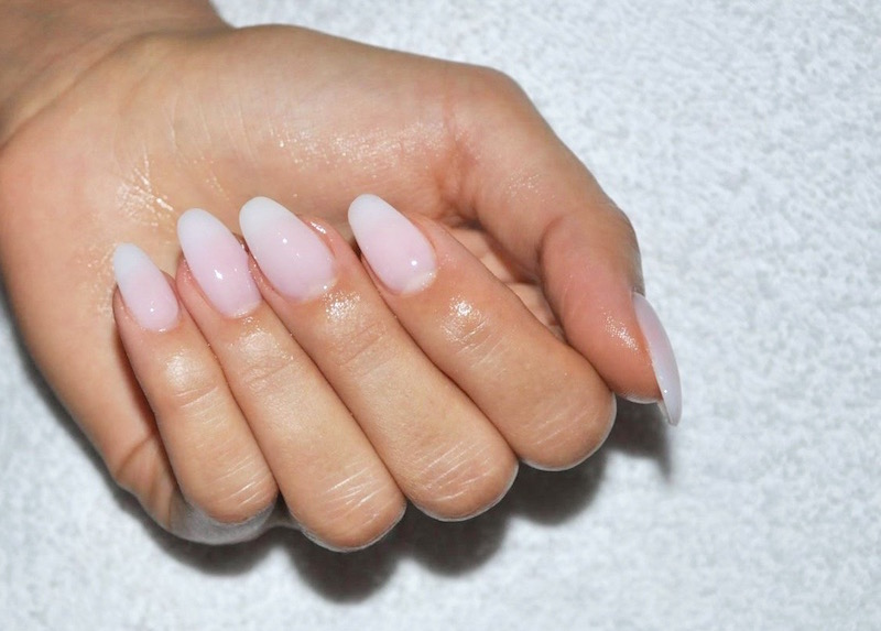 This Style Is Called Almond Natural Gel