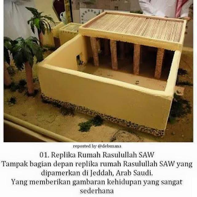 Replika Rumah Baginda Rasulullah SAW