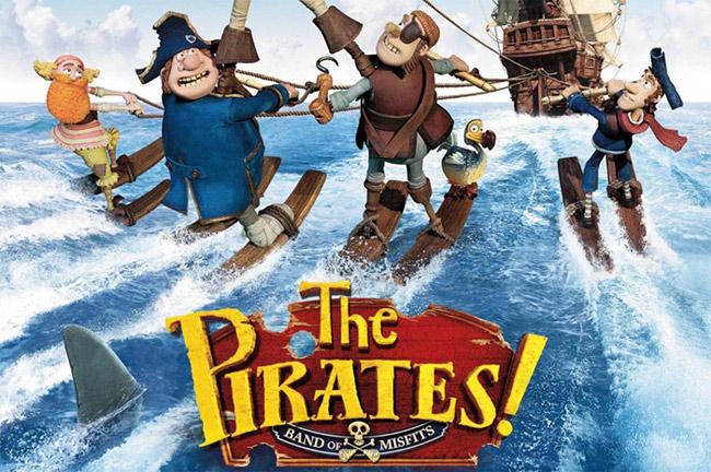 пираты банда неудачников смотреть онлайн мультфильм