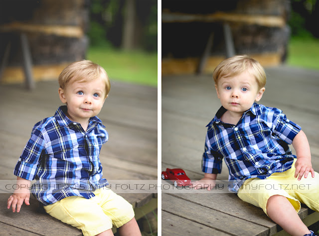 toddler boy photo session at Fowler Park in Terre Haute