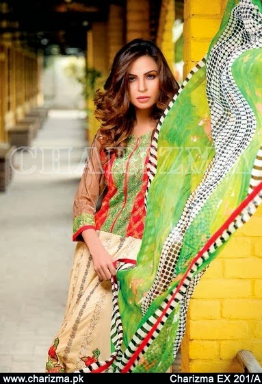Charizma Lawn Collection 2014