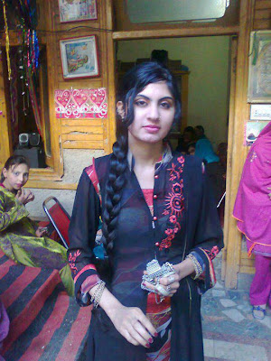 Pakistani Girl in Wedding