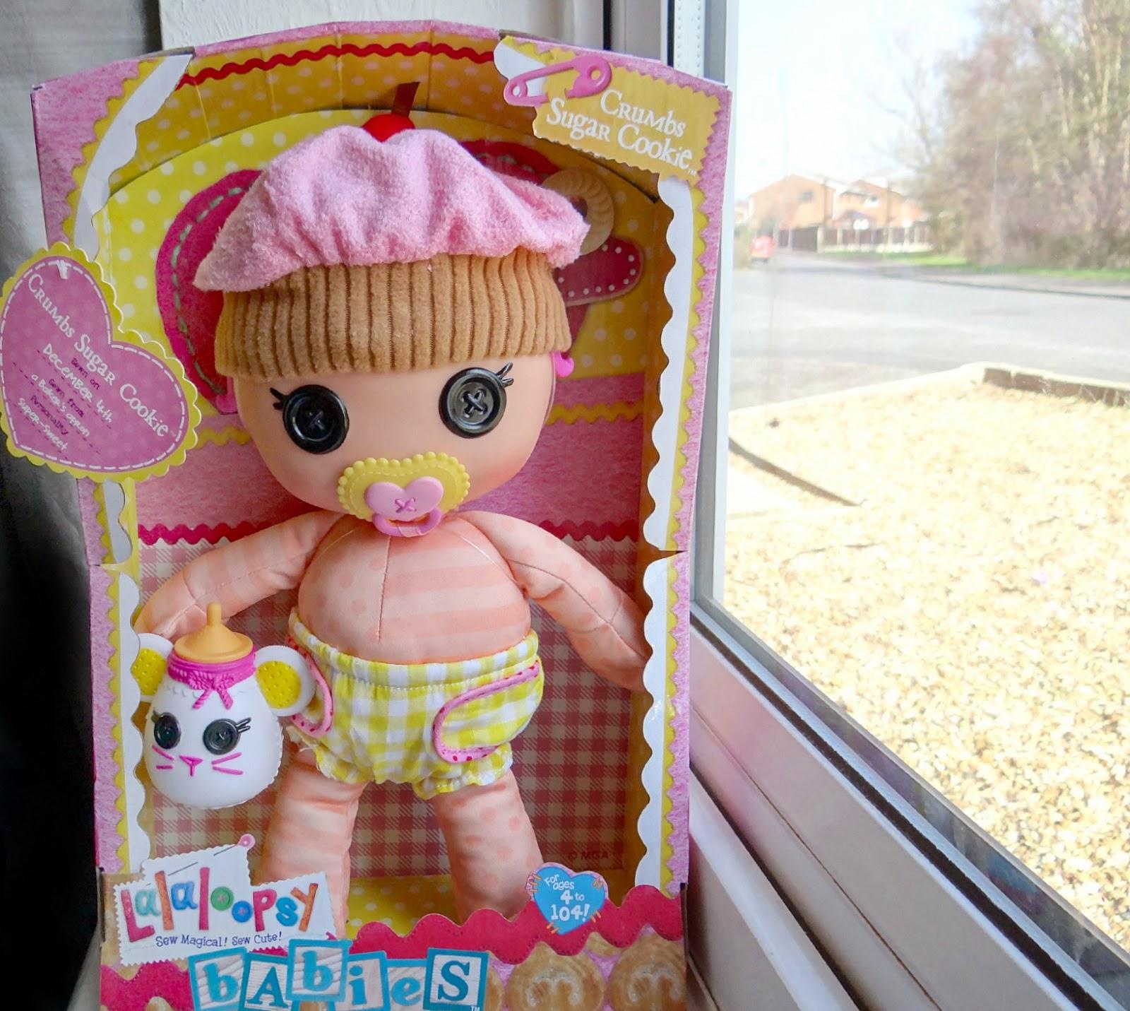 lalaloopsy babies Crumbs Sugar Cookie, baby dolls, lalaloopsy doll