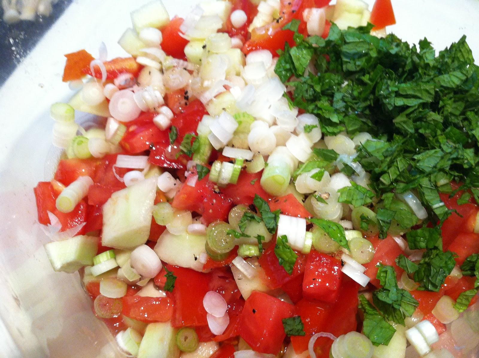 Highlandtown Farmers' Market: Cucumber, Tomato and Feta ...