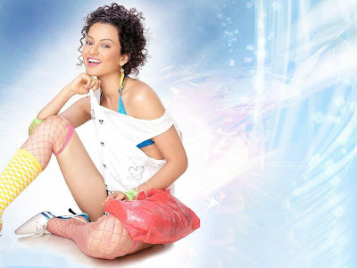 Kangna Ranaut Hot Pink Wallpaper