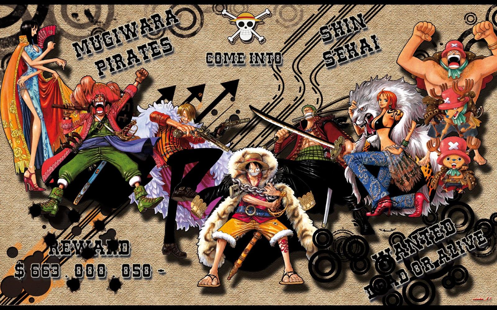 New World One Piece Hd Wallpaper Desktop