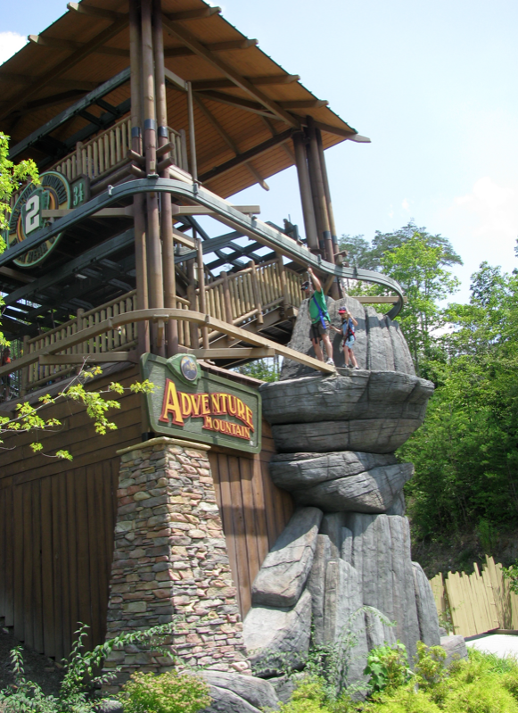 Adventure Mountain Leaving Dollywood for 2014 Project