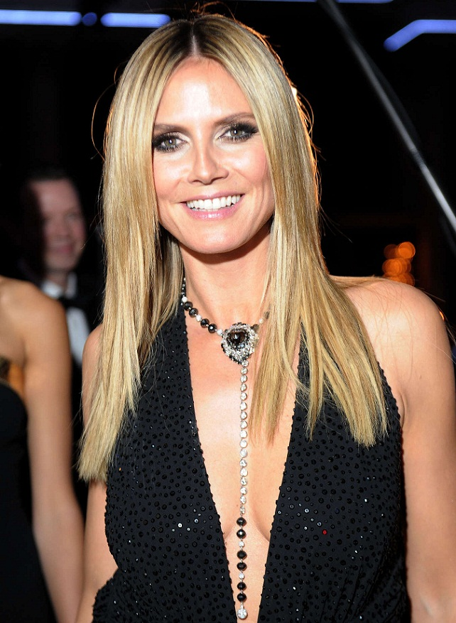Heidi Klum - Celebrity Necklace Trends