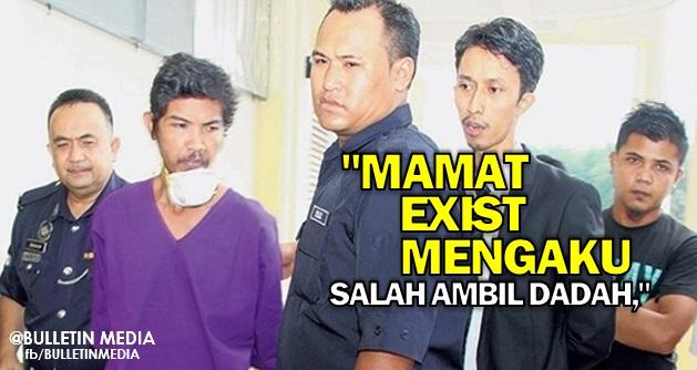 Mamat Exist Mengaku Salah Ambil Dadah, Didenda RM4,000 Serta Pengawasan Polis 3 Tahun