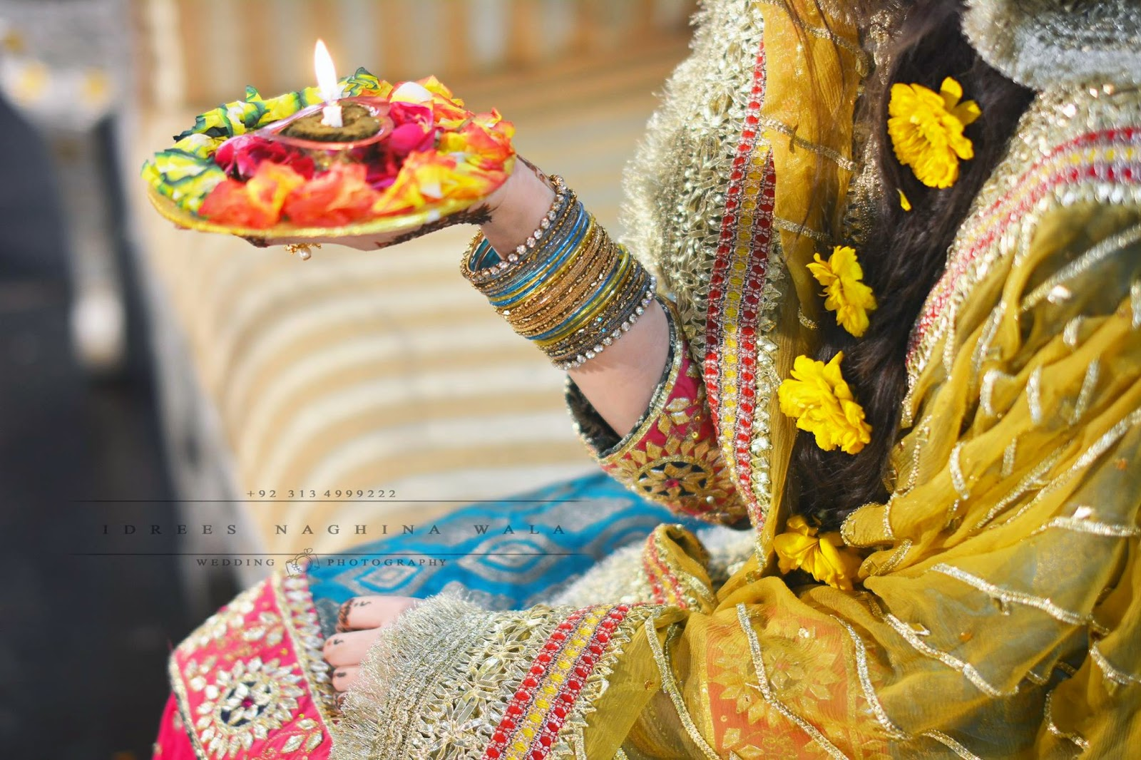Mehndi Bridal Photography : Wedding photography by idrees naghina wala in lahore pakistan