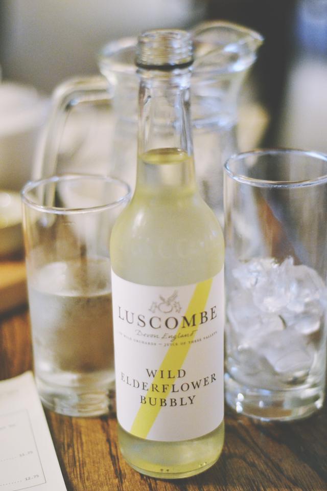 Luscombe Wild Elderflower Bubbly bottle