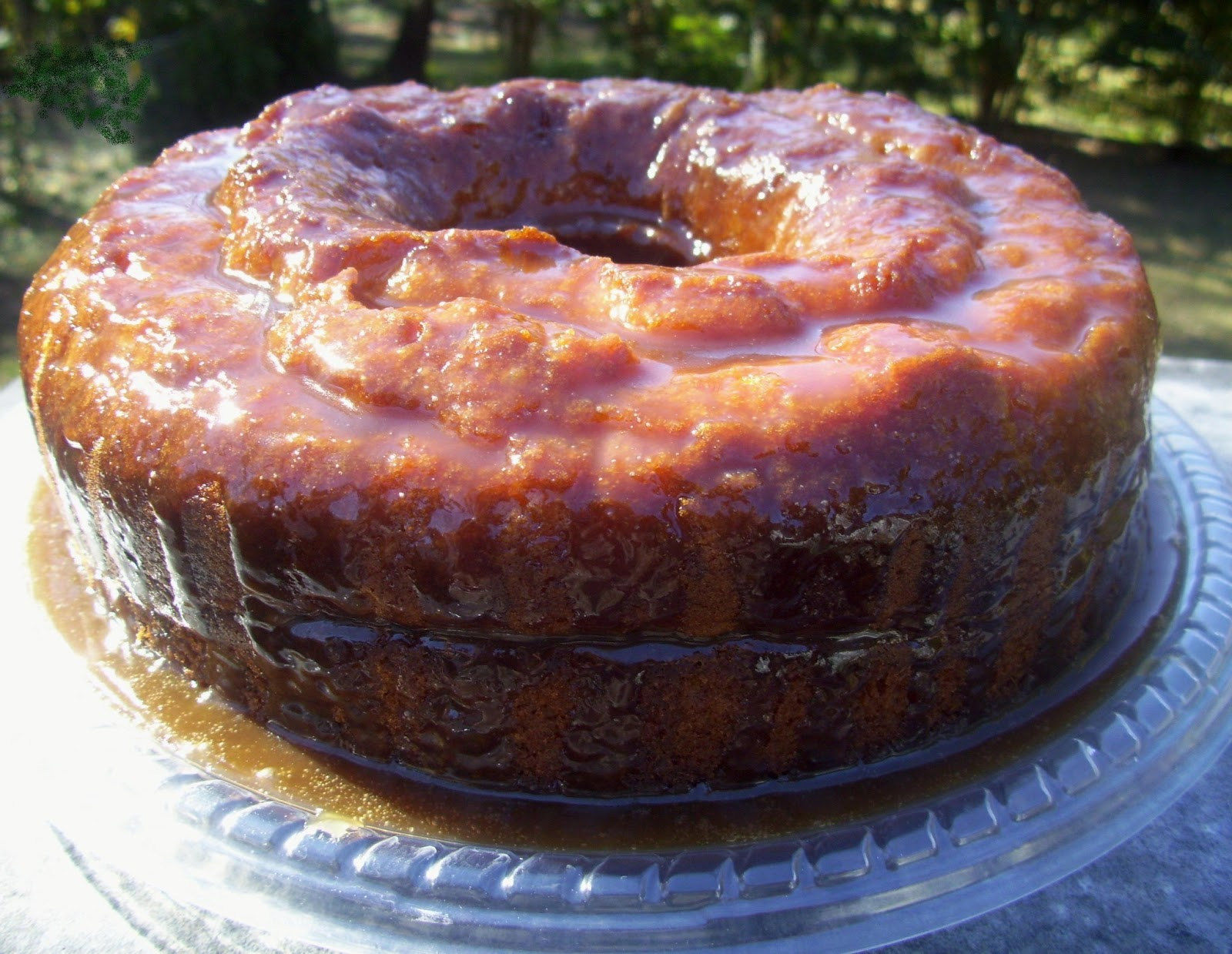 Spiced Rum Cake with Butter Rum Glaze will make you Kick Your Heels Up ...