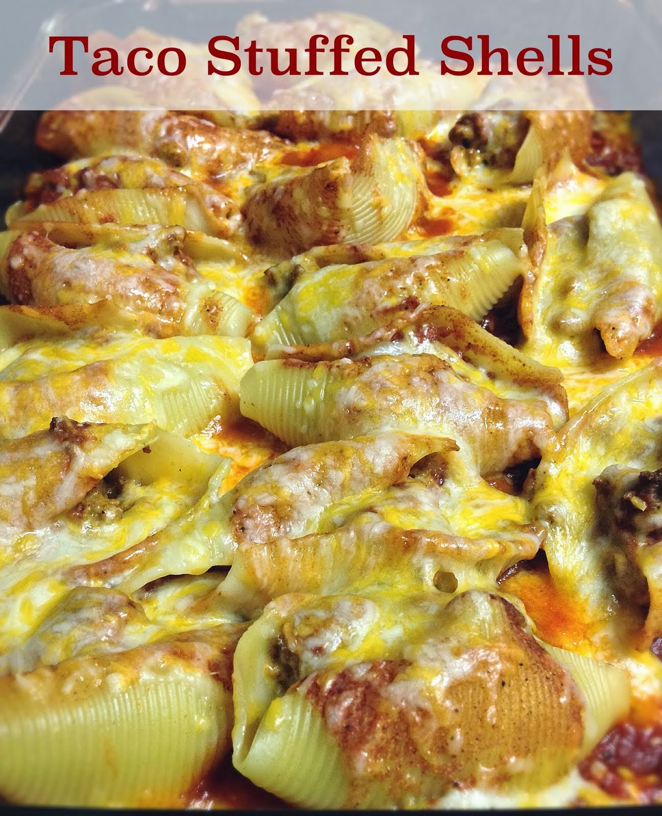 3D Dinners: Taco Stuffed Shells