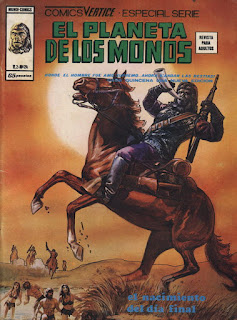 Portada de Planeta de los Monos Volumen 2 Nº 12 Ediciones Vértice