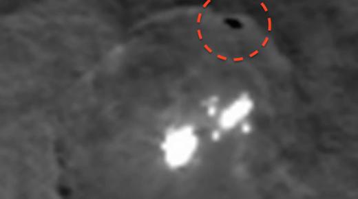 OVNI avistado rodeando las misteriosas luces en Ceres