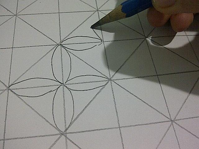 Sketsa Gambar Batik Yang Mudah Di Buku Gambar
