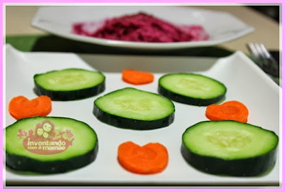 Finger Food com pepino
