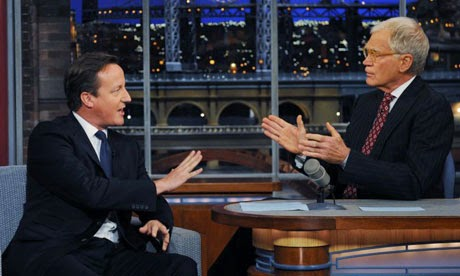 David Cameron fails on Late Show with David Letterman