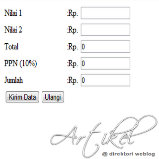 pajak php