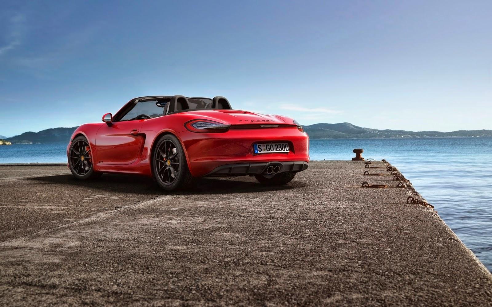 New Porsche Boxster 2014