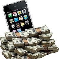 Dinero y smartphone