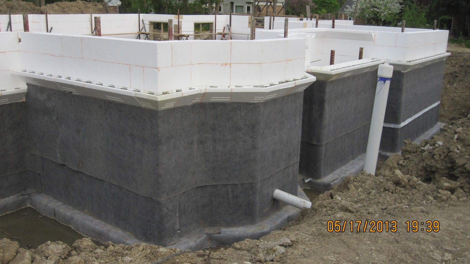Energy efficient building network may 2013 for Concrete basement forms