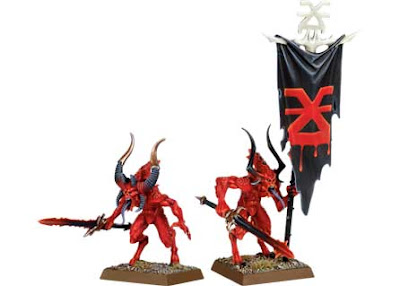 Herald of Khorne and Bloodletters photo