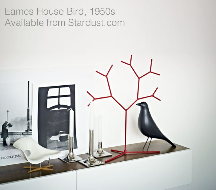 eames house birds. Black Bedroom Furniture Sets. Home Design Ideas