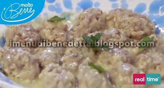 Polpette youvarlkaria-avgolemono di Benedetta Parodi